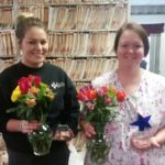 Kayla and Jayme March star employee recipients